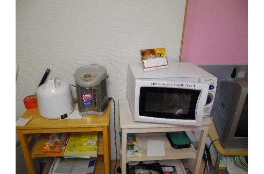 ☆備品☆炊飯器☆湯沸かしポット☆電子レンジ☆
