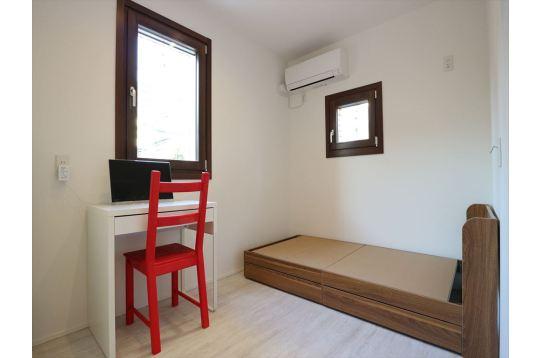 色々なお部屋のタイプがありますが設備は同じです。