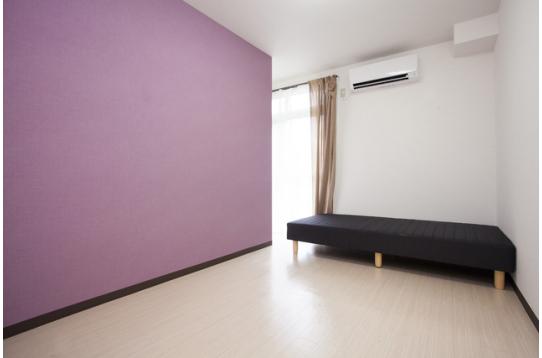 各個室に家具備品は揃っております。