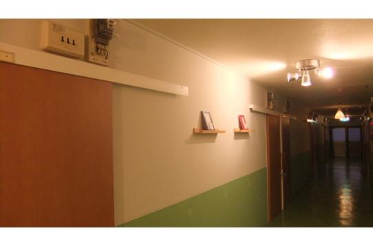 廊下の表現スペース