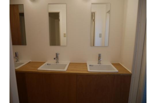 共用洗面台 1階3、2階2、3階2