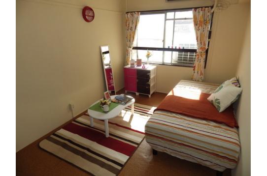 ●日当たり良好の部屋