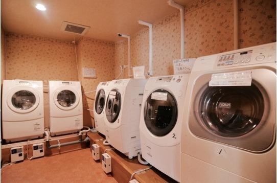 洗濯・乾燥自動運転!※¥100/40分 24H利用可