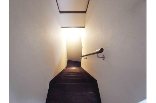 階段の様子。
