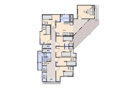 1階 間取り図