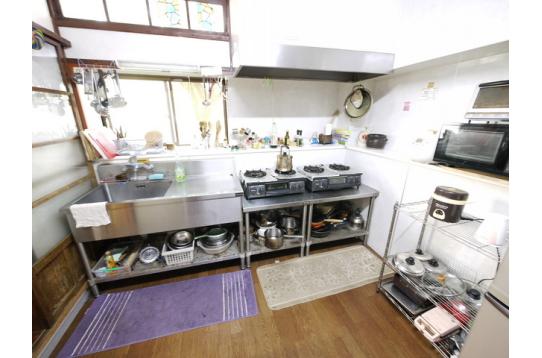 キッチン ガスコンロ2台