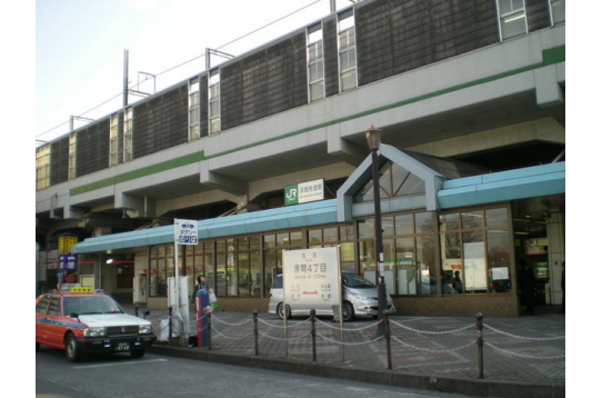 ☆最寄駅の埼京線「浮間舟渡」駅☆