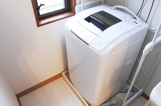 洗濯機も無料でご利用いただけます