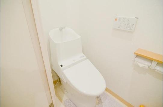 可愛いトイレです。