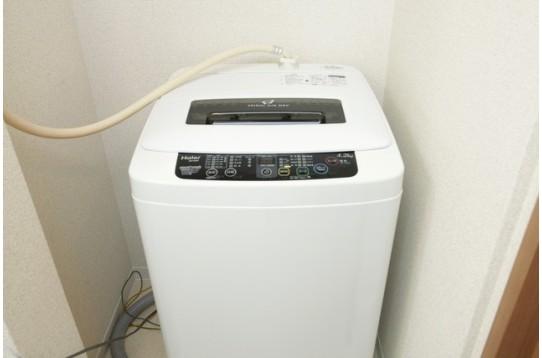 共用の洗濯機です