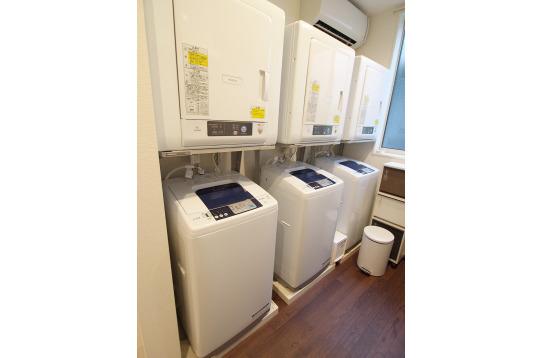 洗濯機・乾燥機も無料です。