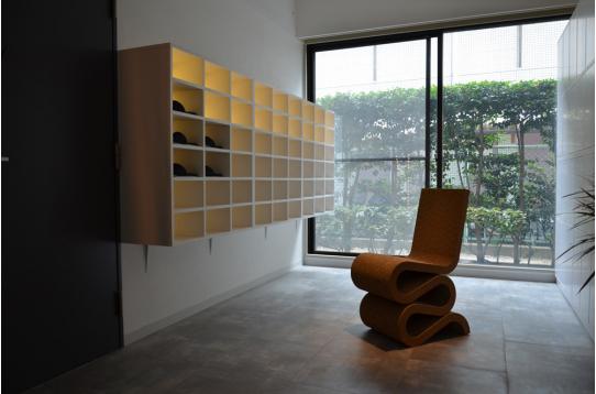 デザイナーズ家具たち。