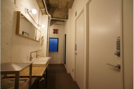 3階洗面カウンターの様子
