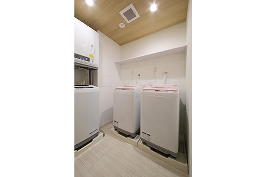 洗濯機・乾燥機も無料でご利用可能