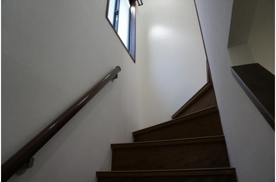 階段にも窓があります