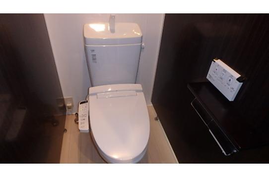 清潔のトイレ