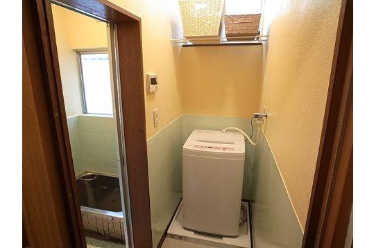 現在は乾燥機も設置しています。