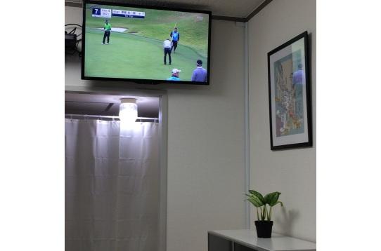 テレビは地デジ、BS、CSが視聴できます。