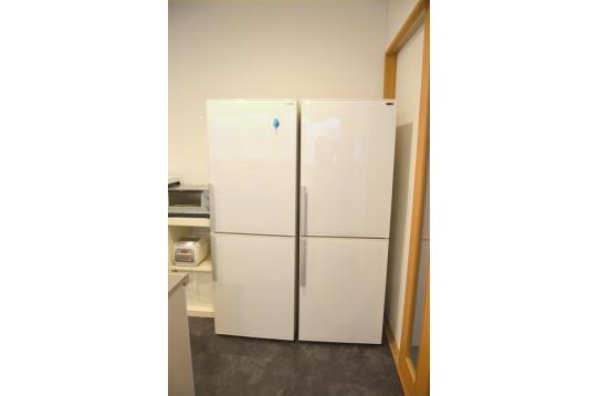 大きめ冷蔵庫で収納ばっちり