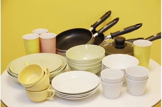 食器や調理器具は全て用意