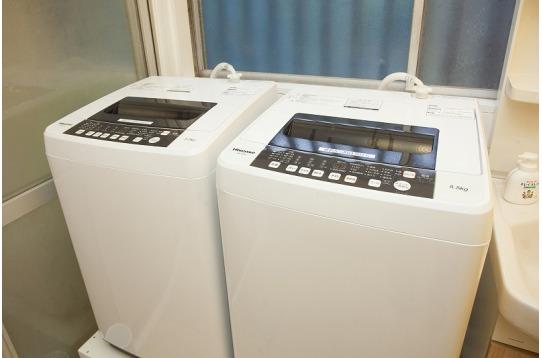 洗濯機も2つでストレスなし