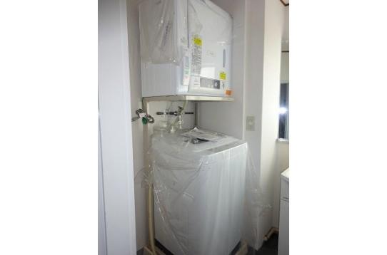 洗濯機も乾燥機も新品です。