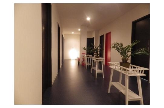 ●ゆったりした廊下