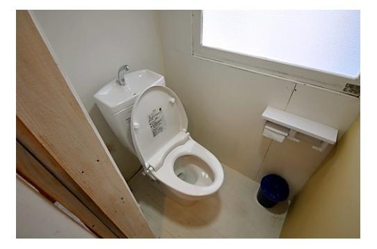 清潔感あるトイレ!