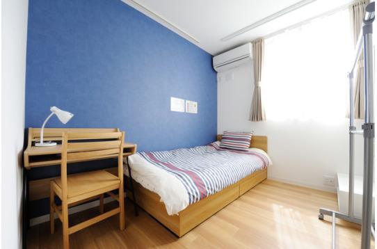 各部屋ごと壁紙が異なります
