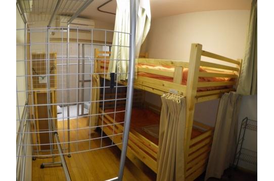 3号室ドミトリー☆2段ベッド☆上☆下