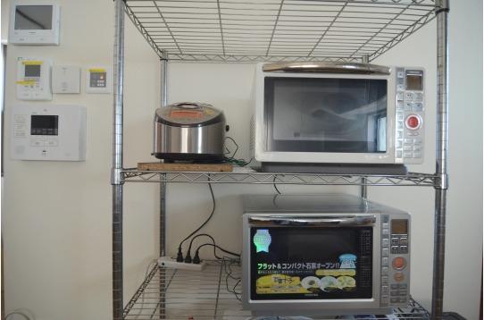 各種調理家電も完備です