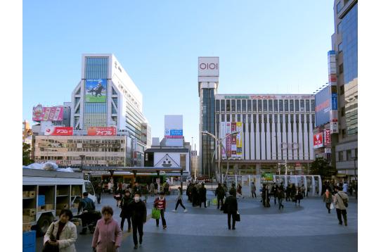 けっこうでかい駅、錦糸町駅です。