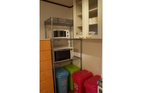 キッチンの一角