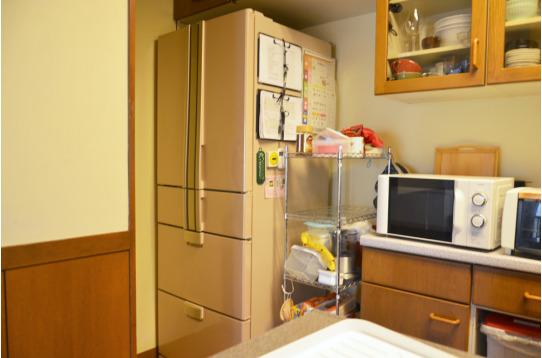大型冷蔵庫をご用意しています。