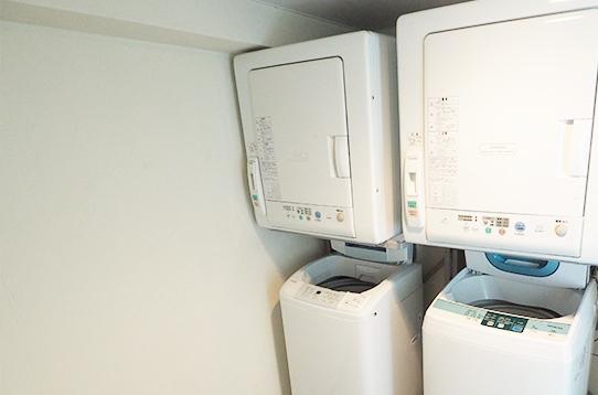 洗濯機・乾燥機が無料で使えます!