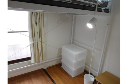 204号室です、角部屋で使いやすいです