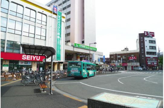 ●小平駅 ハウスまで8分徒歩圏です。