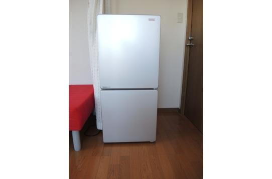 冷蔵庫もついています♪