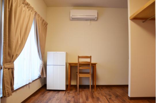 各個室、冷蔵庫完備♪