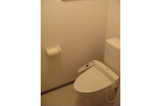 トイレも1F、2F、3Fにあります。
