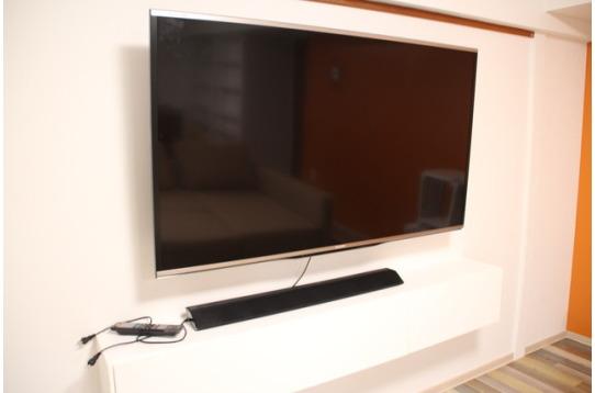 60インチのテレビが2箇所あり☆