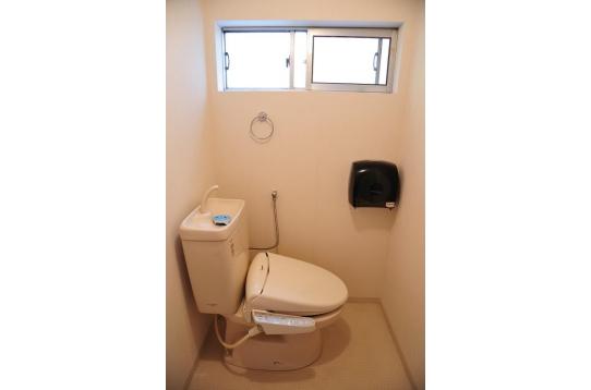 広いトイレも嬉しい!