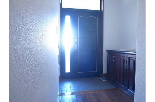 玄関の写真です。
