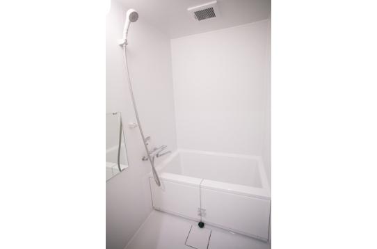 バスルームの様子。