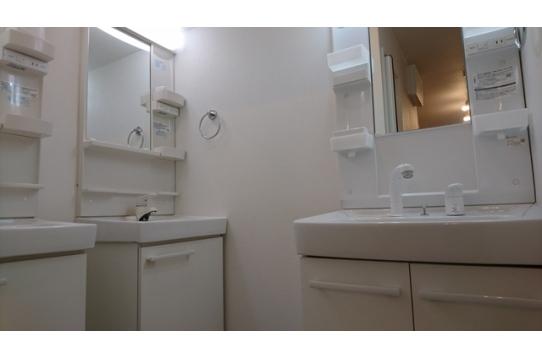 1階洗面スペースの様子