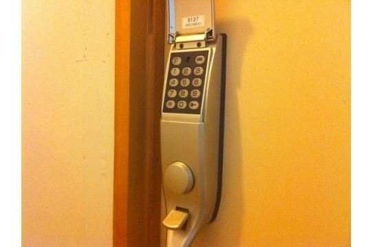 番号変更可なのでセキュリティーばっちり!