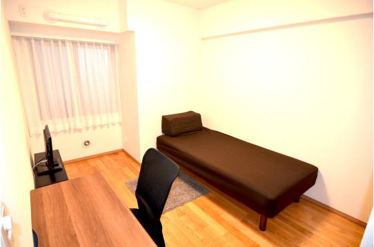 テレビ付きのお部屋。3号室