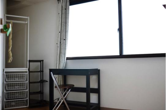 収納家具も完備されています。(501b号室)