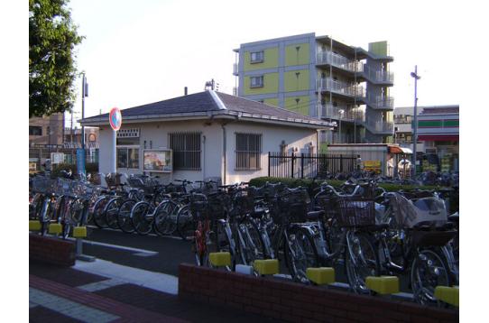 駅前駐輪置場