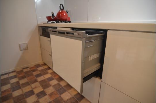 一回使うと手放せない食器洗浄機付きキッチン
